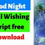good night viral script free download 2019