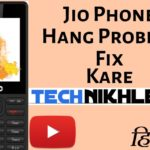 Jio Phone Hang Problem