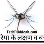 मलेरिया के लक्षण 2019 - symptom of malaria hindi