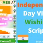 Independent Day Wishing Script Free Download For WordPress & Blogger